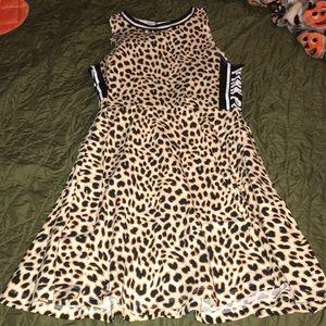 cheetah Pink dress
